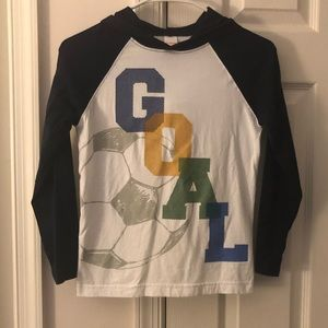 Gymboree Long Sleeve T-shirt with Hoodie